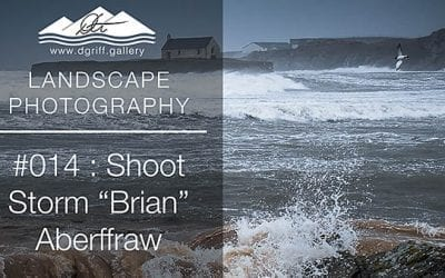 #014: Storm 'Brian' at St Cwyfans