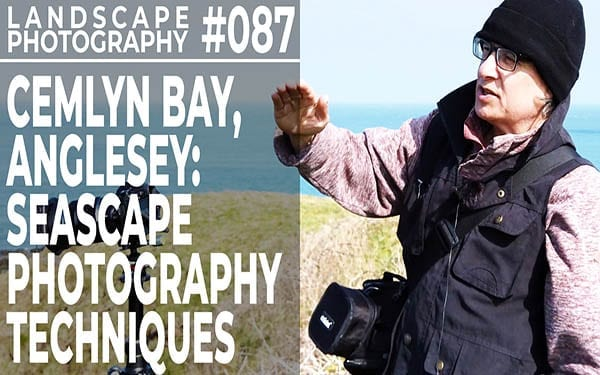 #087: Seascape Photography Techniques: Cemlyn Bay Anglesey