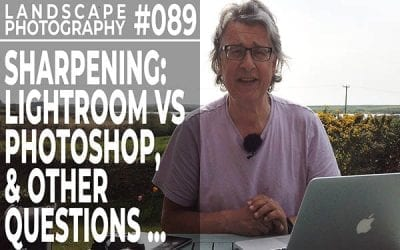 #089: Landscape Photography Sharpening: Frequency Separation in Photoshop