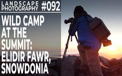 #092: Landscape Photography: Mountain Wild Camp, Elidir Fawr, Snowdonia