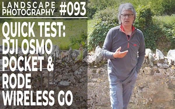 #093: Quick Screentest: Rode Wireless Go Mic with DJI Osmo Pocket
