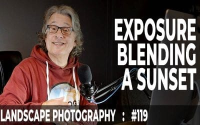 Exposure Blending Photoshop Tutorial: A Sunset (Ep #119)
