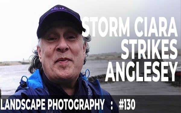 Storm Ciara at Aberffraw, Anglesey (Ep #130)