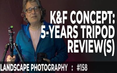 K&F Concept 5-Years Tripod Review(s) (Ep #158)