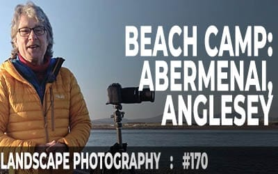 Beach Camp at Abermenai Point, Anglesey (Ep #170)